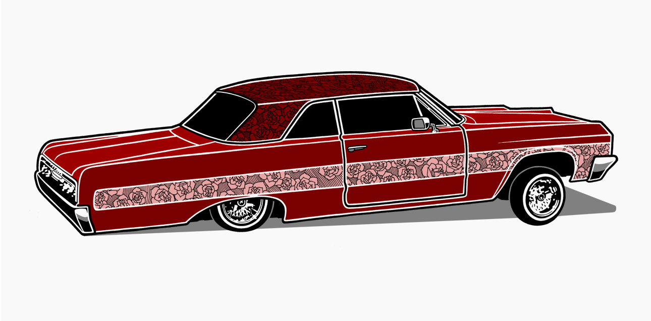 64 impala coloring pages - mike giant black book gallery